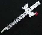 KILT PIN SCOTTISH CELTIC STYLE CREST CHROME fASHION KILT WEAR WEDDING